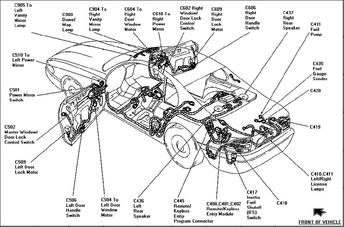 94 Ranger Fuel Filter Get Free Image About Wiring Diagram Mustang Location Lincoln Town Car