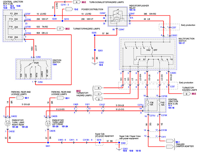 2005 ford f150 wiring schematic   31 wiring diagram images