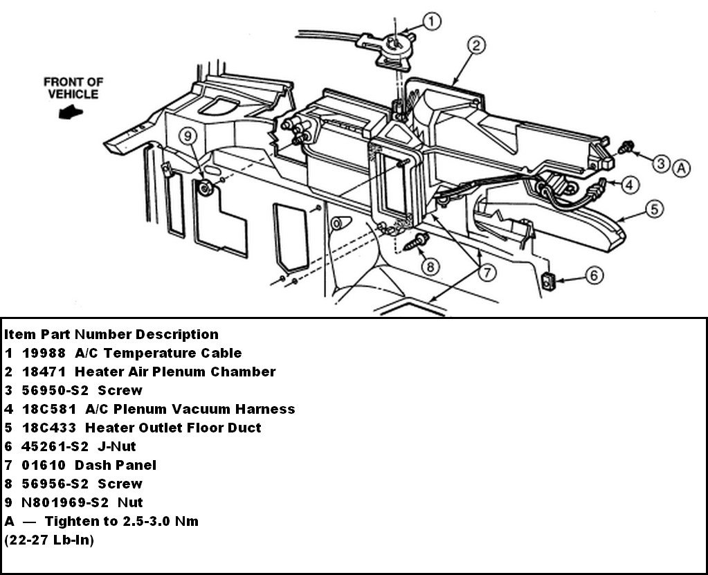 99 F150 Heater Diagram Wiring Diagrams 2004 Ford F 150 Blend Door Actuator Location Autos Post 98
