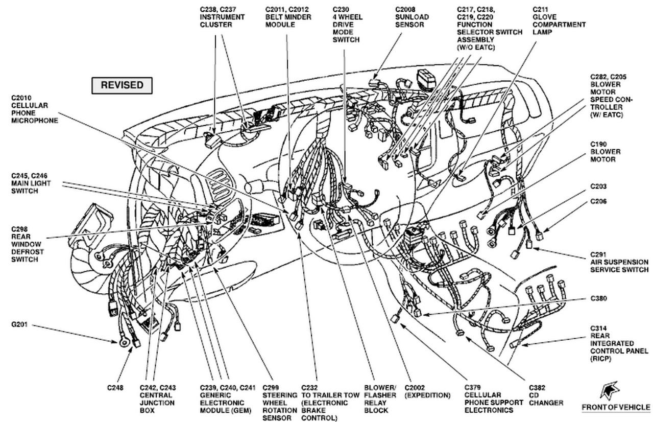 2001 Expedition    Eddie Bauer  Stop Working  Wiper Relay  202