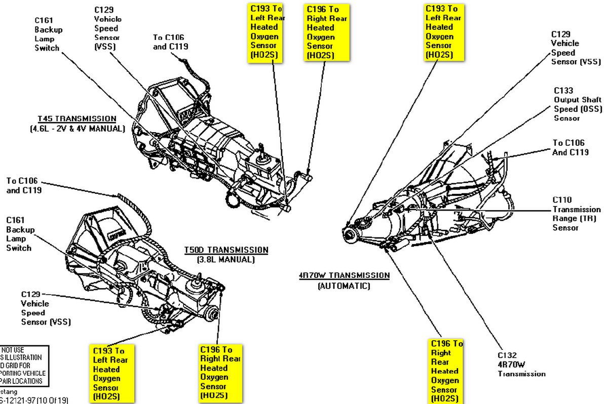97 ford ranger engine diagram 97 ford mustang engine diagram