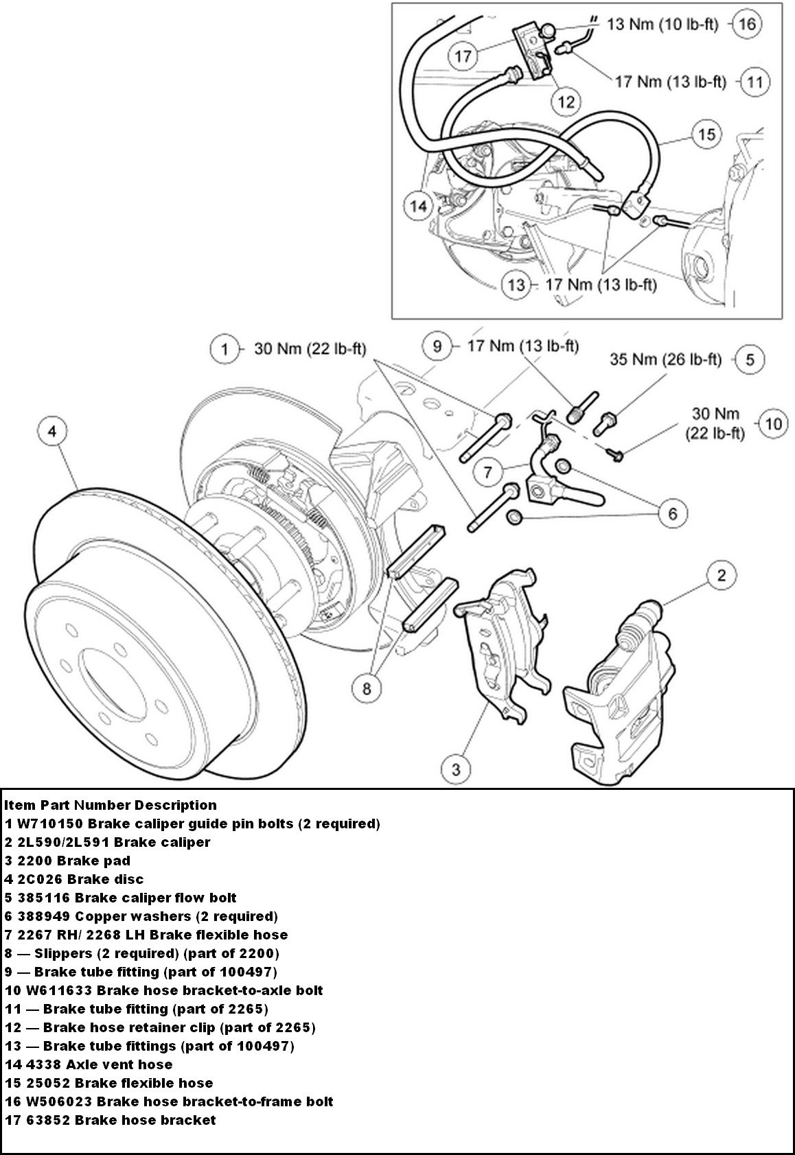 ford f 150 brakes diagram i need to replace the rotors and pads on my 2006 f150 2wd ...