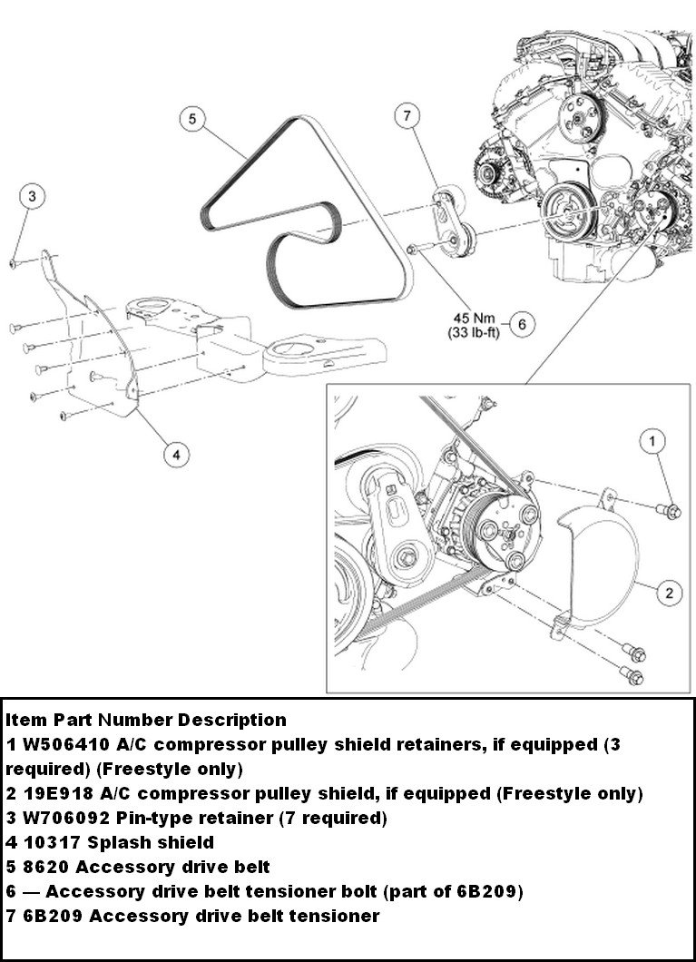 Thanks for using Just Answer, I am sending you the instructions on how to  replace the serpentine belt, you will need to gain access from underneath  the car, ...