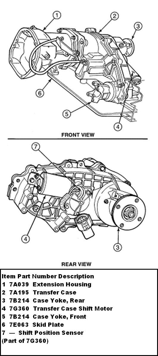 ford ranger transfer case diagram   33 wiring diagram