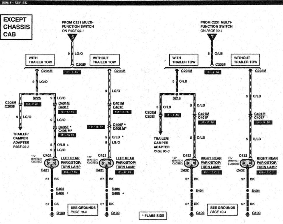 wiring diagram for ponderosa horse trailer horse trailer