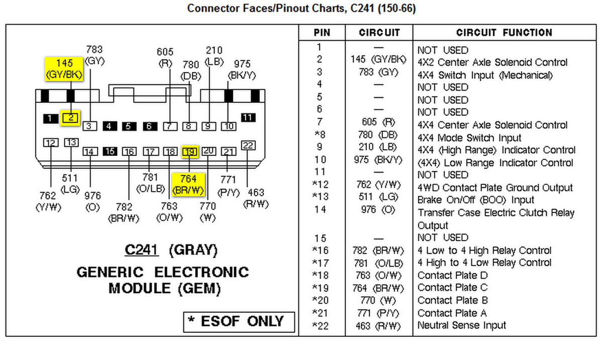97 ford maf wiring diagram html