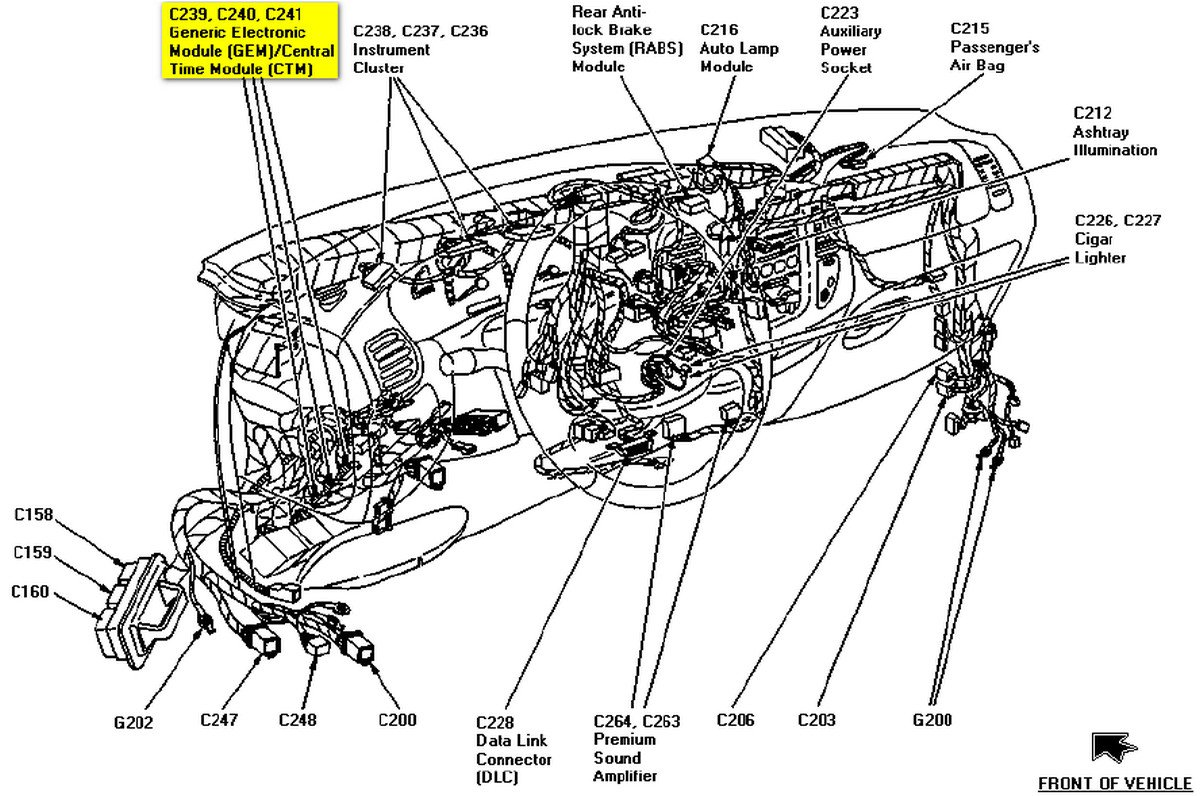 1997 Ford F 150 4x4 Wiring Diagram Gem Module on 1994 Ford F 150 Engine Diagram