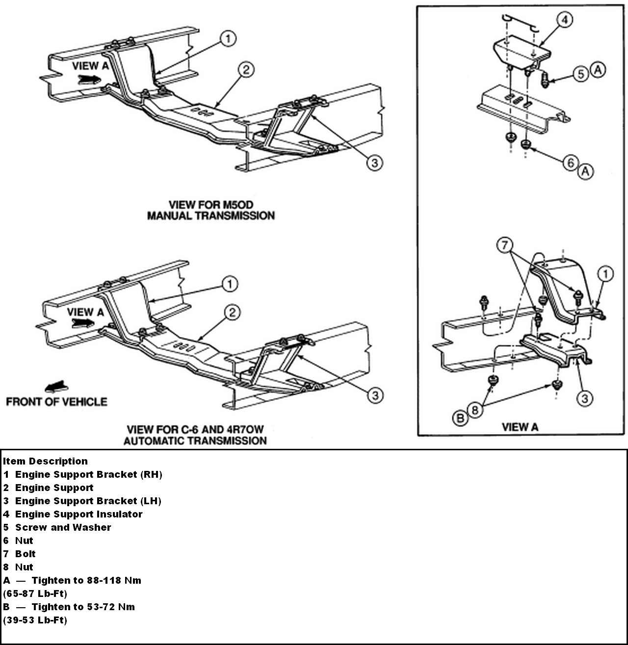 1996 f150 4.9l 5 speed transmission removal question ... 2003 ford f 150 4 6l engine diagram dip sticks #11