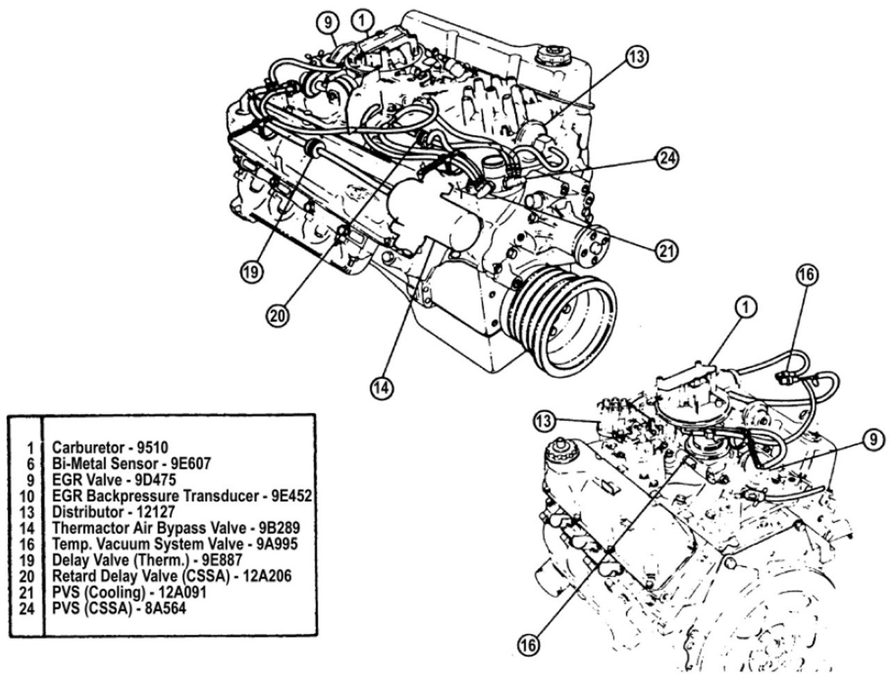 1977 ford f 150 vacuum diagram 351 engine