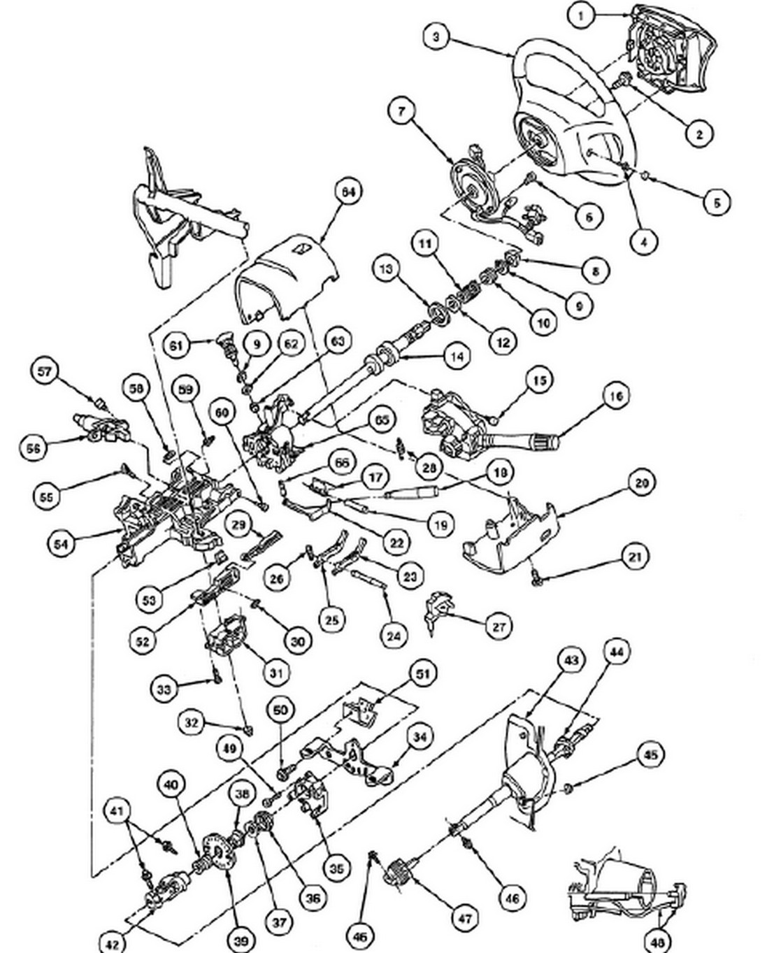 97 ford ranger steering column diagram great installation of Ford Explorer Radio Wiring Diagram 1997 ford ranger steering column diagram wiring diagrams source rh 1 19 3 ludwiglab de 1999 ford explorer steering column diagram 1999 ford explorer