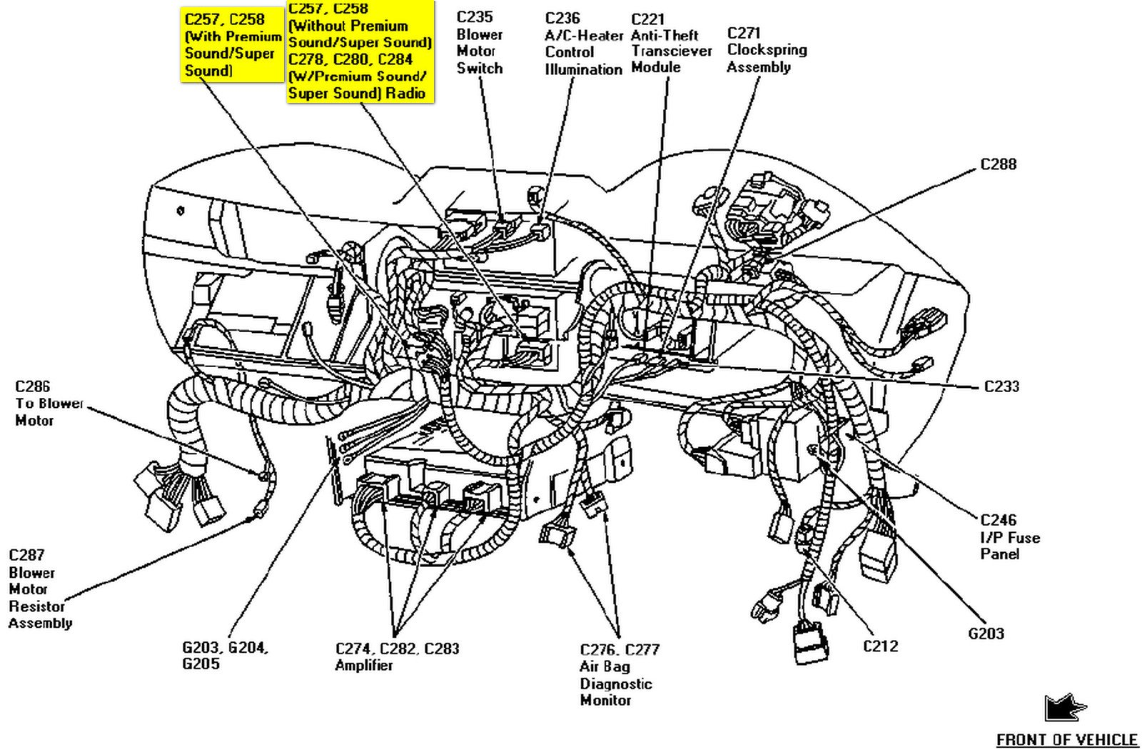 2010 01 23_022148_97_Mustang_C257_connector_location ford mach 460 wiring trusted wiring diagram online