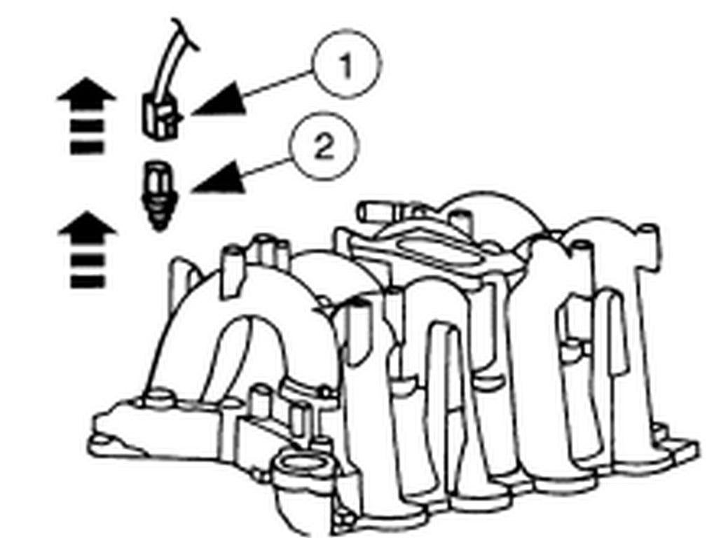 Location For Ect Sensor On 1997 E250 5 4