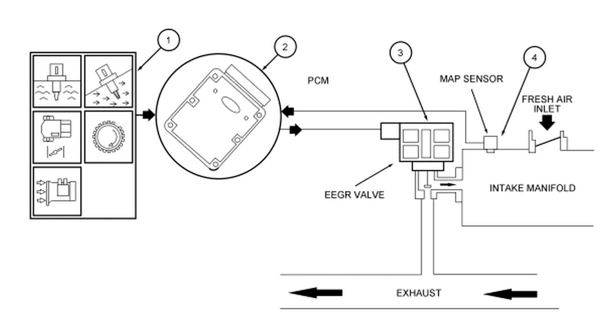 do you know how i can locate the egr in a 2005 ford