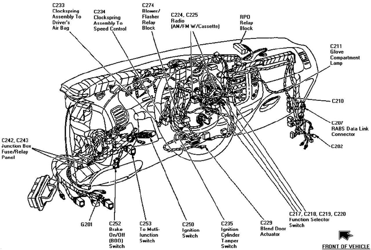 Have A 1997 F150 Cab, 4 6l Has Auto Lamp And Foglights; Recently 1997 Ford  F-150 Dash Parts Diagram 1997 Ford F 150 Parts Diagram