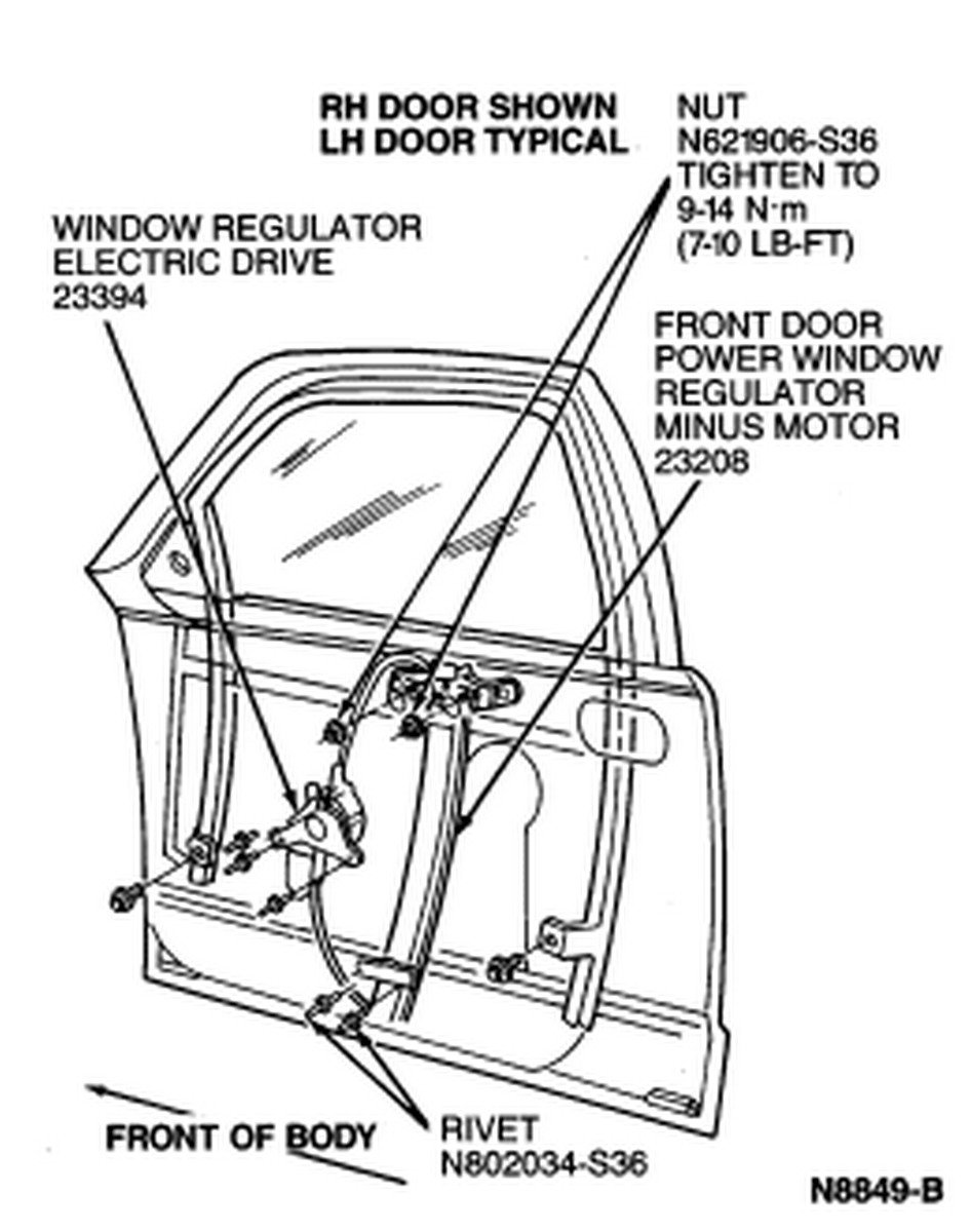 Wiring Diagram Power Window Panther Libraries Chevy Tahoe Libraryneed Instructions For Removal Of The Regulator 1994