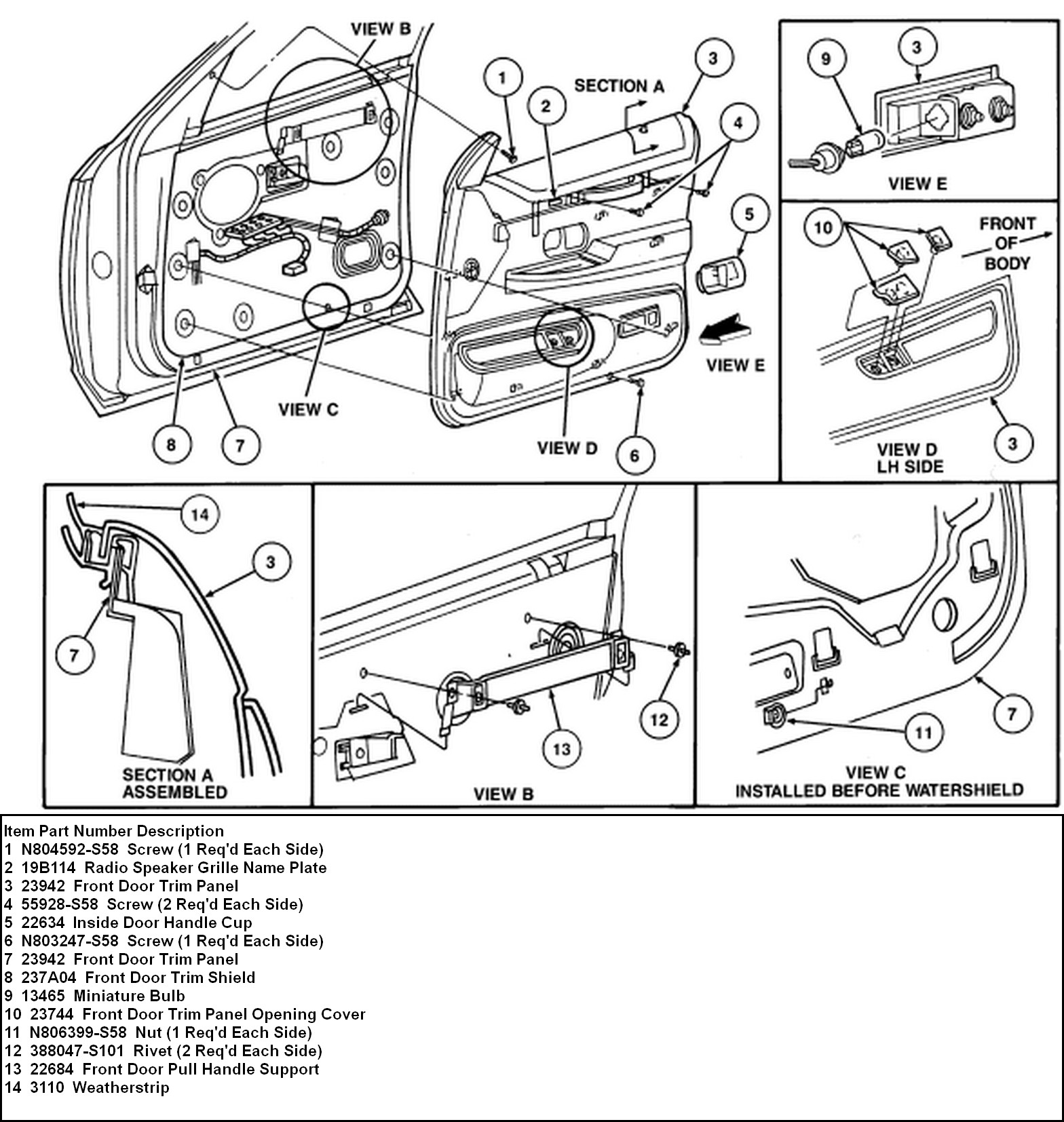 Wiring Diagram 1994 Grand Marqiis Door Window Motor 51 Lincoln Continental Engine 2010 03 13 184623 94 Gm Panel Need Instructions For Removal Of The Regulator At Cita