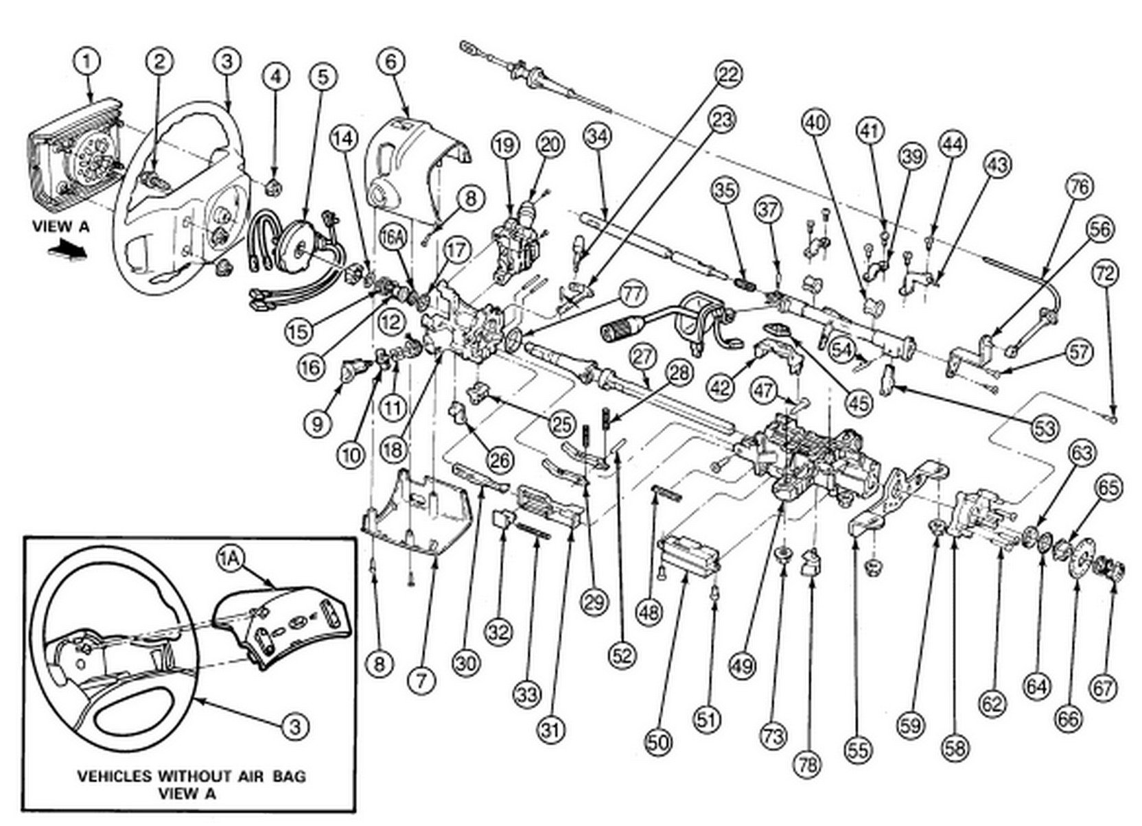 ford f350 steering column diagram html