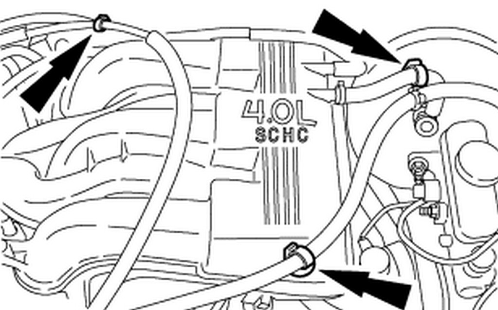 i have 2002 explorer, the ac only comes out of the front ... 2002 explorer ac vacuum diagram ford explorer ac wiring diagram