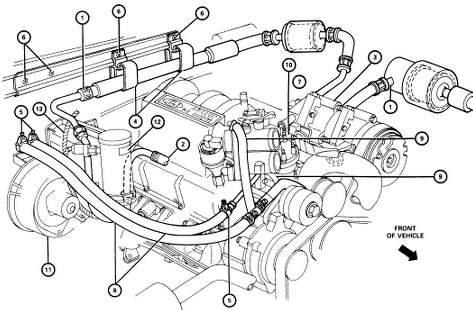 wiring diagram database  1998 ford f150 heater hose diagram