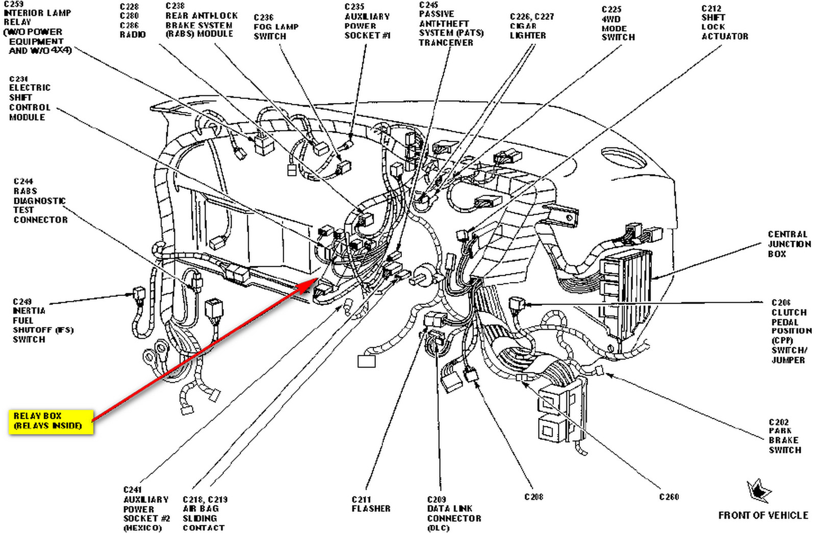 Ford Mustang Wiring Diagram Also Ford Explorer Power Window Regulator