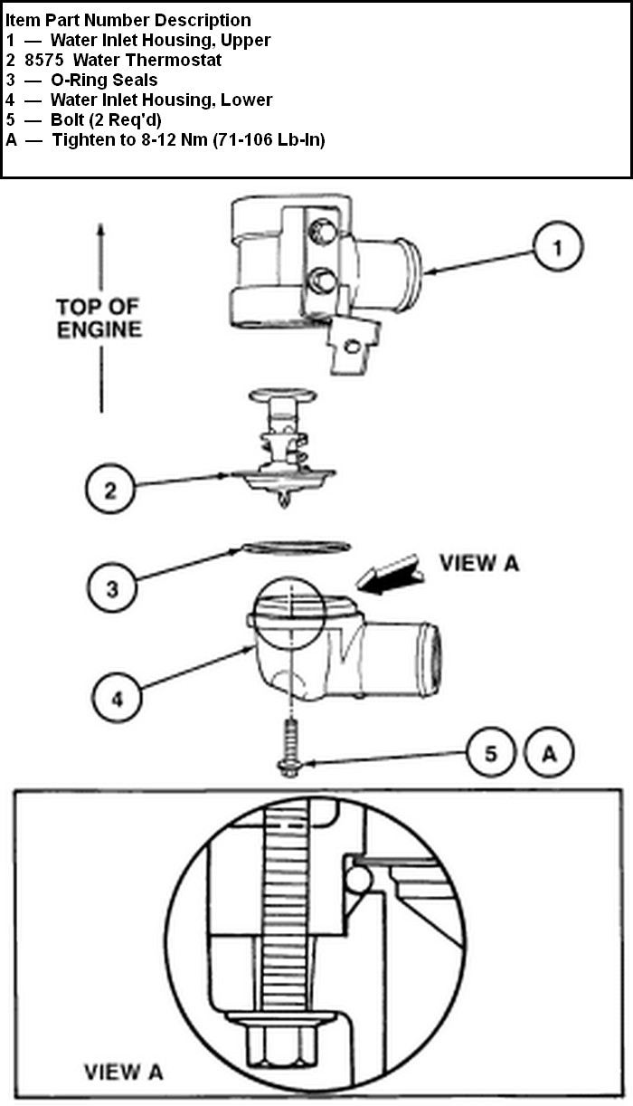 1999 taurus  dohc  teh inlet hose  rubber ends  metal
