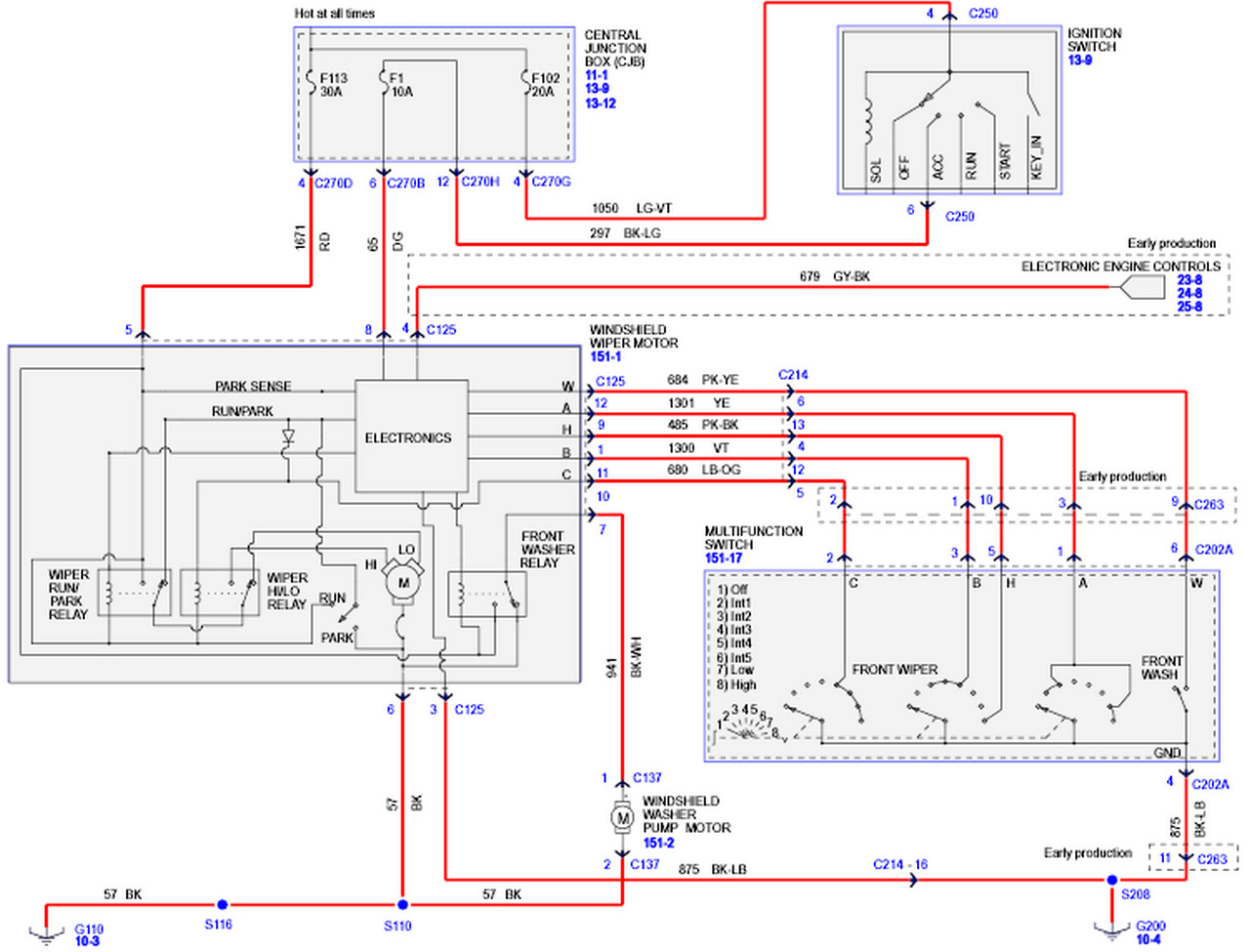 2005 F150 Wiring Harness Another Blog About Diagram Ford F 150 Xlt Already Replaced Even When Wiper Switch Engine