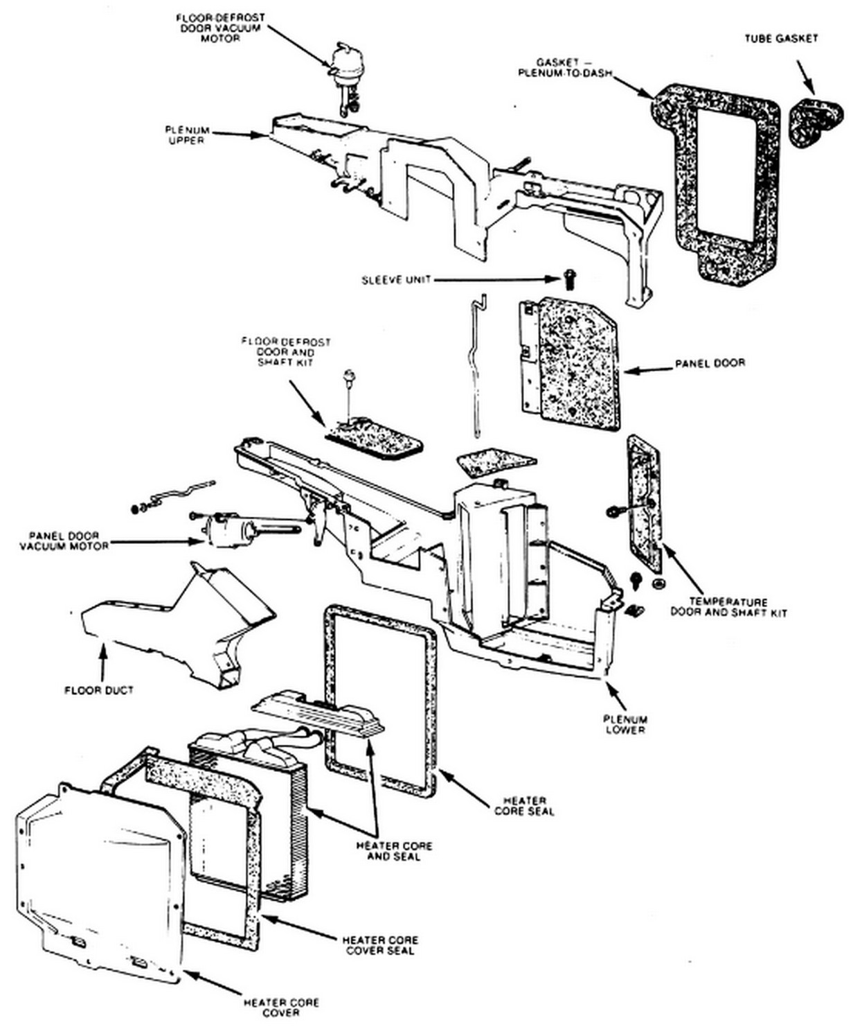 Need Instructions To Change Out A Heater Core