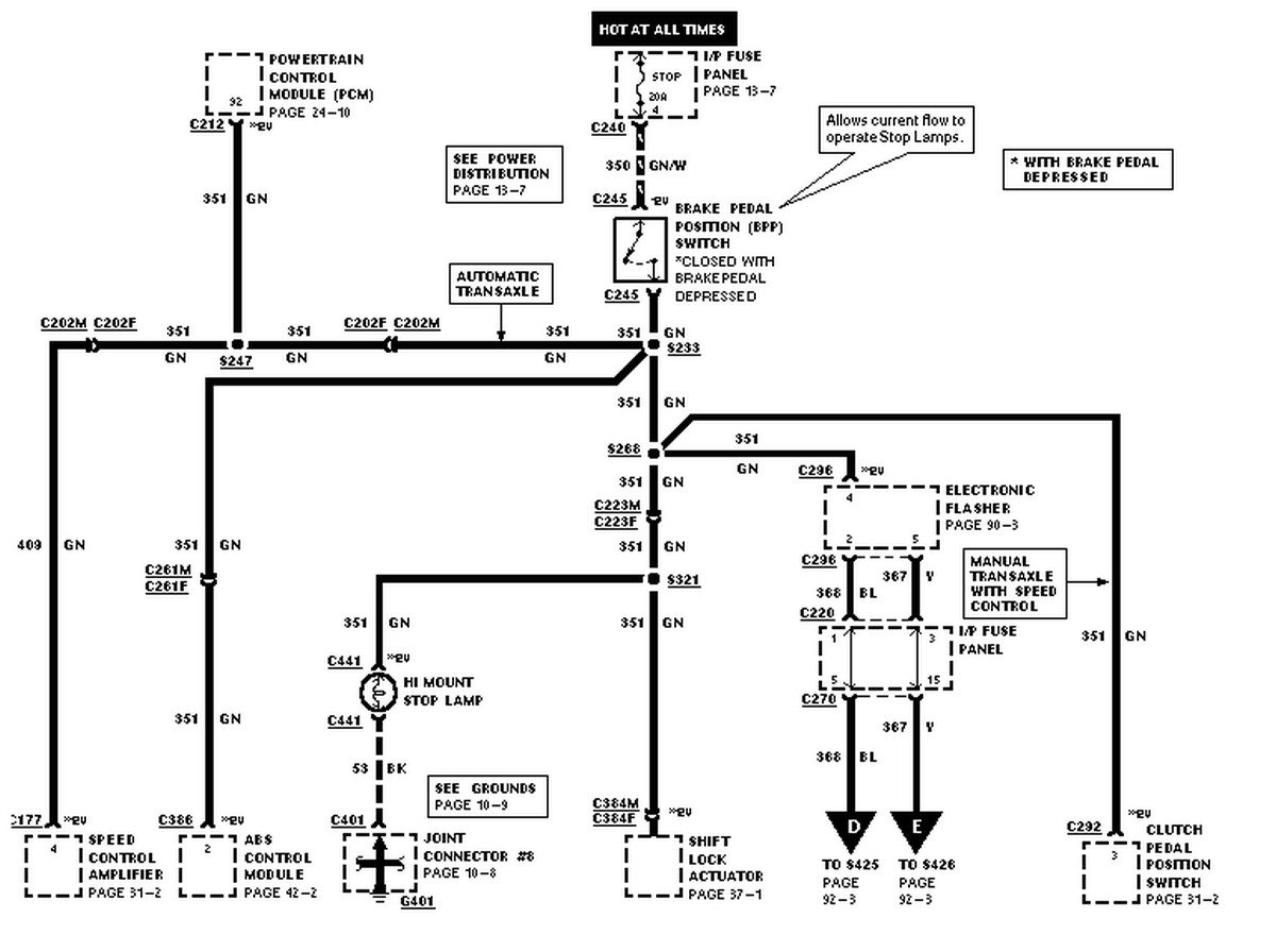 2010 10 18_192019_98_Escort_Stoplamp_wiring_diagram 98 ford escort zx2, brake lights will not come on fuse is good 2001 Ford ZX2 Coupe at bayanpartner.co