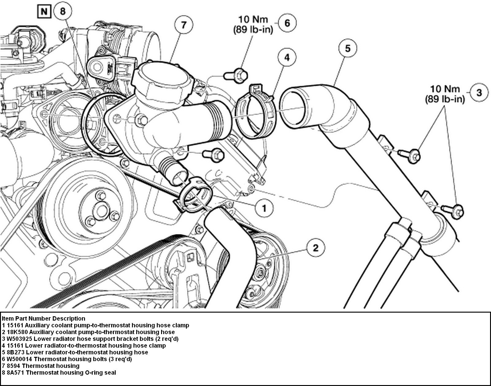 2005 Lincoln Ls Engine Diagram Free Wiring Diagram For You