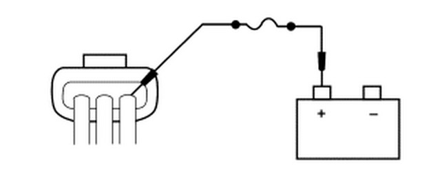 Connect A Fused 15a Jumper Wire Between Generator C102a Pin Circuit 35 Og Lb And The Positive Battery Terminal