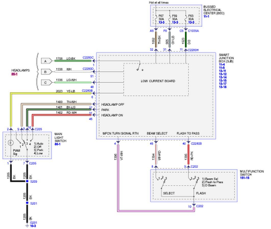04 mustang wiring diagram