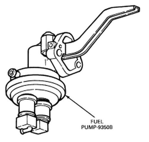 ford 73 diesel fuel pump