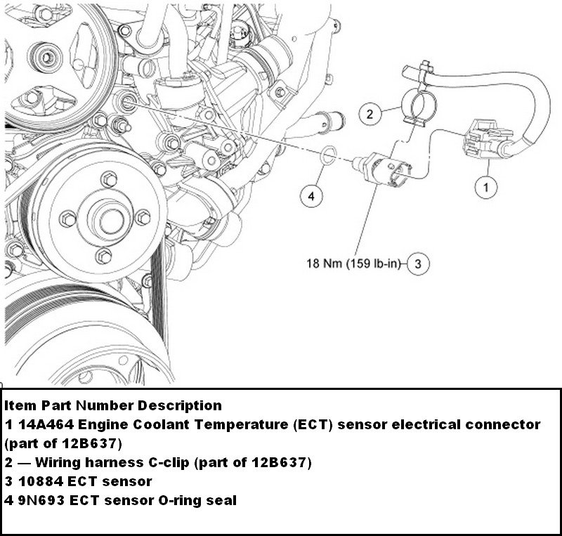 RepairGuideContent furthermore 4rifv Explorer Go Changing Power Window Ground Wire furthermore 1428721 Engine Bay Wiring Pinouts in addition 1iqyd Fuel Pump Relay Switch 1995 Ford E 350 7 3l Engine additionally Honda Accord88 Radiator Diagram And Schematics. on a thermostat on 1998 windstar
