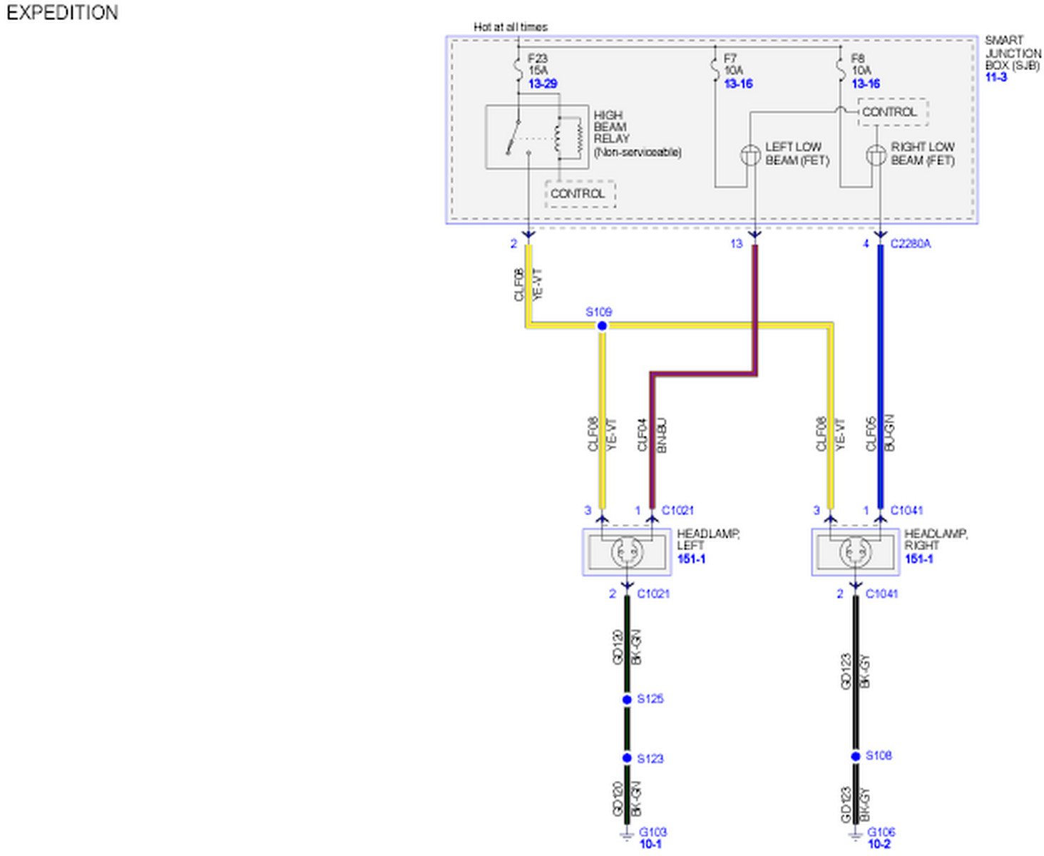 2011 02 19_230721_07_expedition_headlamp_wiring_diagram2 2007 ford expedition, bright lights will not work the indicator on ford smart charge wiring diagram at pacquiaovsvargaslive.co