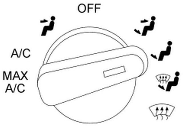 Type Your Ford Question Here The Heat Control Knob Will Not Change