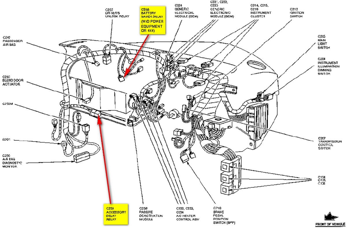 Power Window Wiring Diagram 2002 Ford Explorer Library A Relay For Windows As Well Third Ranger Wire Data Schema U2022 2008 F 250