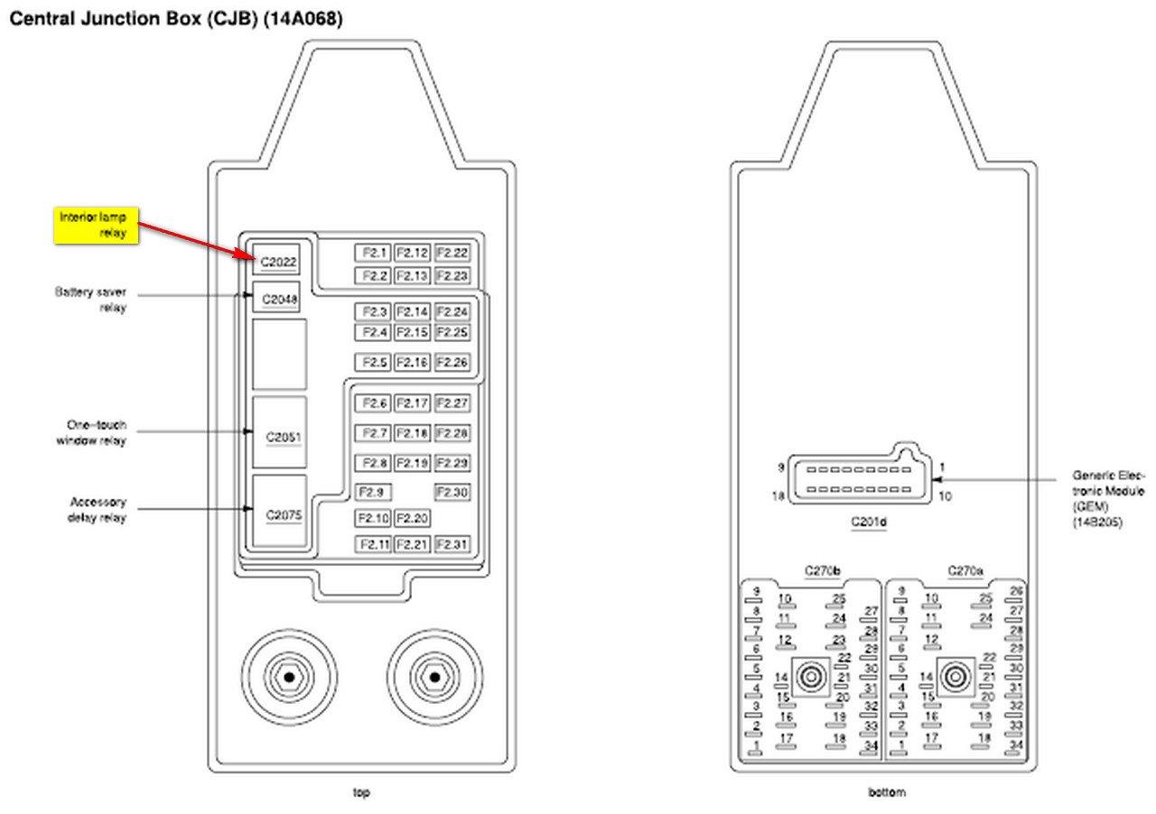 Interior Lights Does Not Work Peterbilt 379 Fuse Box Graphic