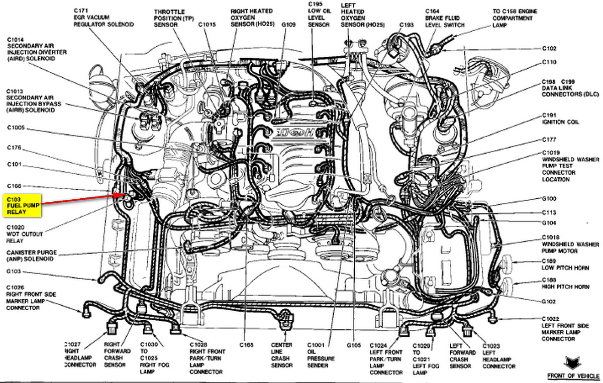 1993 Mustang Fuel Pump Wiring Diagram Archive Of Automotive 1997 Ford Explorer I Dont Hear Start In When Key Is Turned On Rh Justanswer Com 93