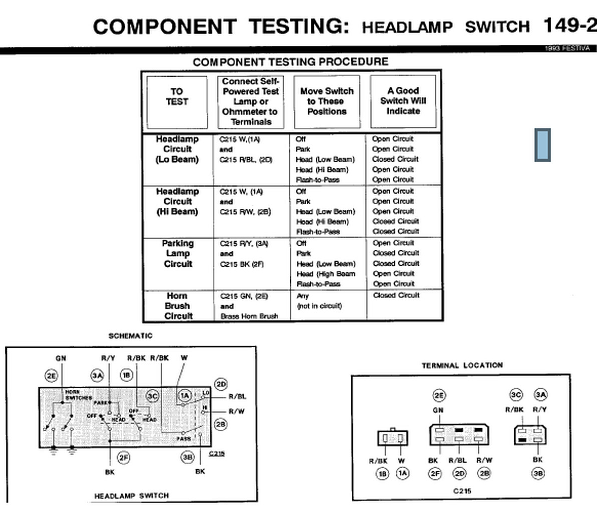 ford l8000 wiring diagram
