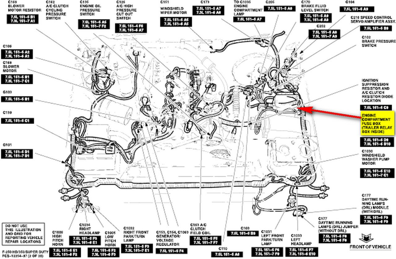 wiring diagram 1996 ford f 350 powerstroke  ford  auto