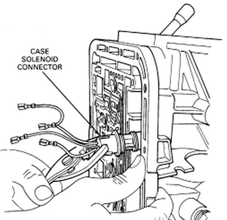 550 Ford Transmission Wiring Diagram