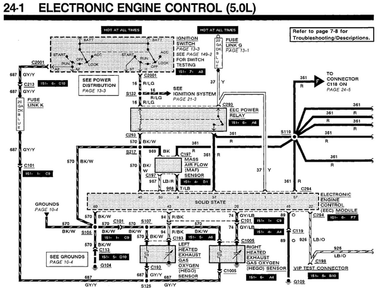 89 mustang ignition wiring diagram   34 wiring diagram
