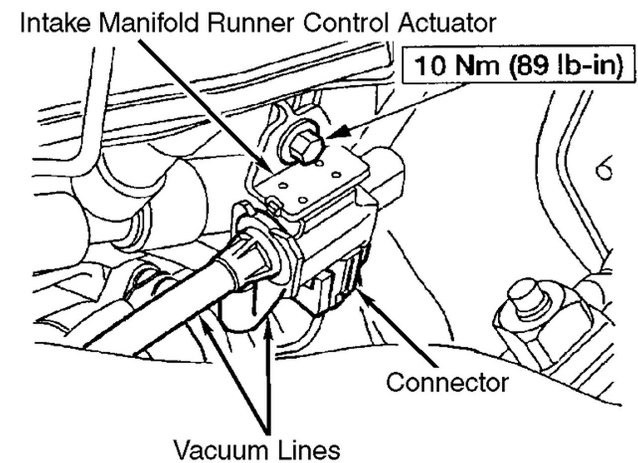 mercedes intake manifold location