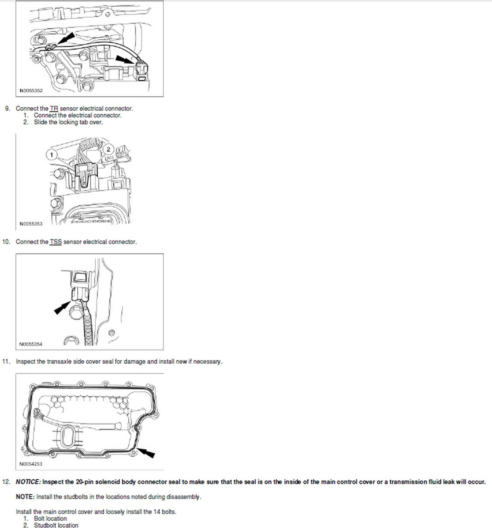 How Do You Change The Output Speed Sonsor On A 08 Ford Edge Awd Schematic Graphic