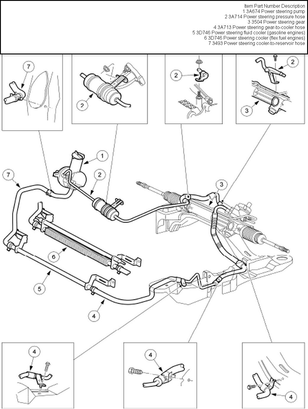 2000 ford focus power steering pump diagram  u2013 periodic