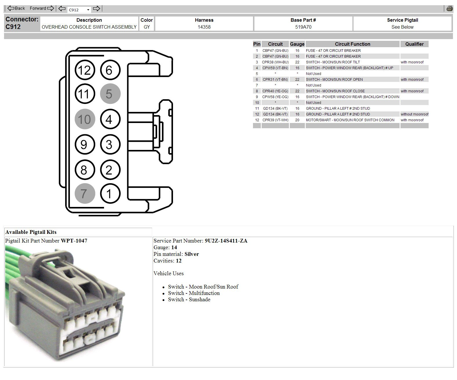 2010 Ford  Raptor  With Three Switches Need Wiring Diagram  Roof