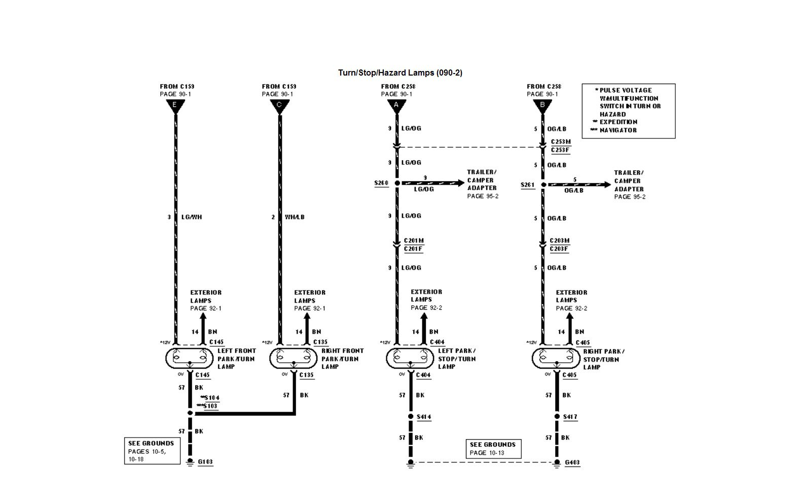 2004 lincoln navigator wiring diagram   37 wiring diagram
