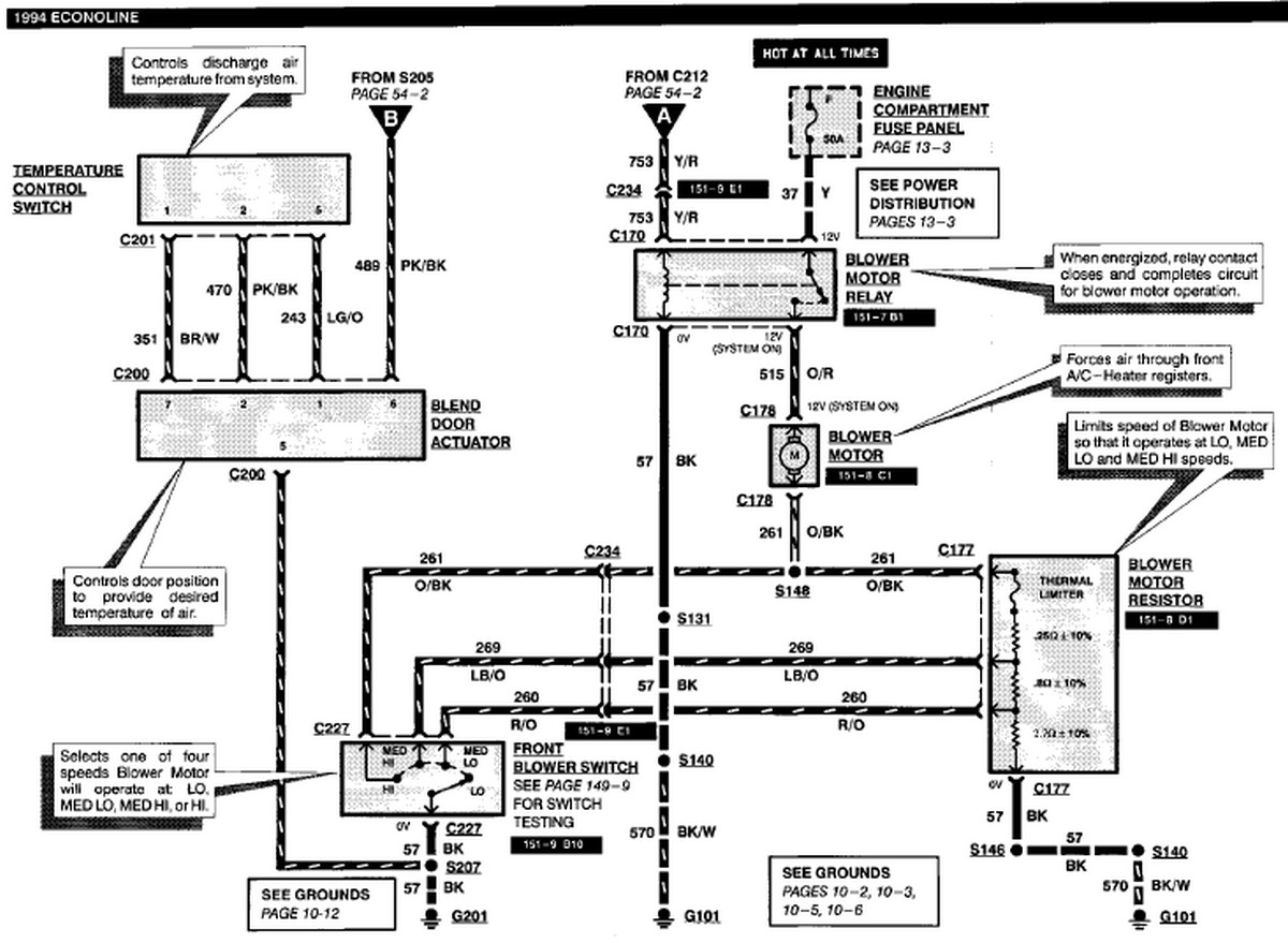 Ford F53 Ac Wiring Diagram Automotive