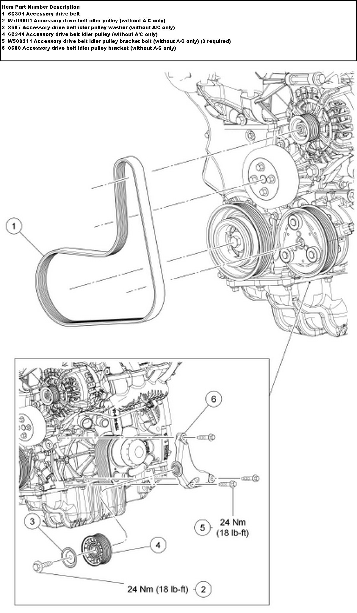 700cl Information Change Serpentine Belt on Ford Escape Engine Diagram