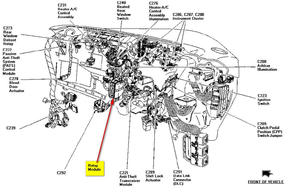 98 Ford Explorer Turn Signal Fuse Location 1998 E350 Engine Diagram Graphic